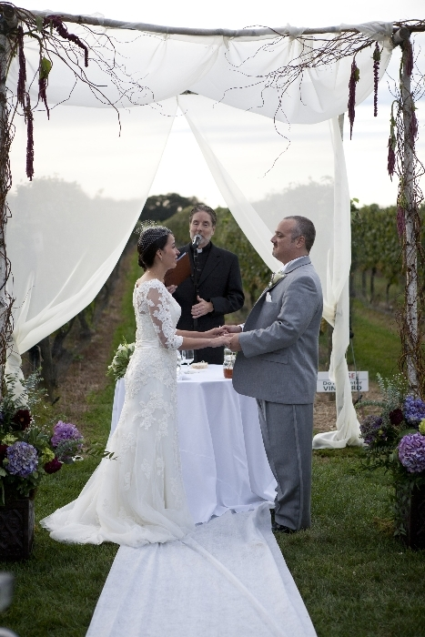 Cassandra 39 s and timothy 39 s wedding at bedel cellars in for Wedding officiant long island